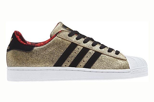 Adidas Originals Superstar Gold Year Of The Horse Profile 1