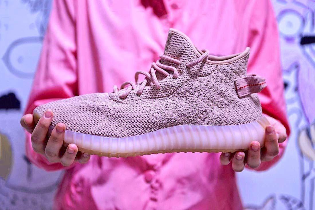 Adidas Yeezy Boost 650 V1 Pink 1