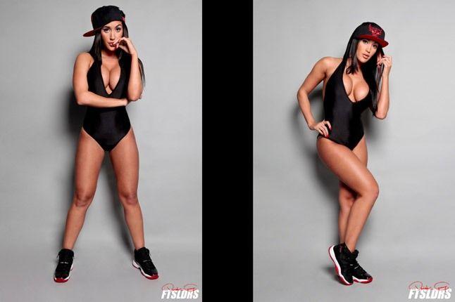 Claudia Sampedro Foot Soldiers Jordan 11 Snapback Double Vision 1