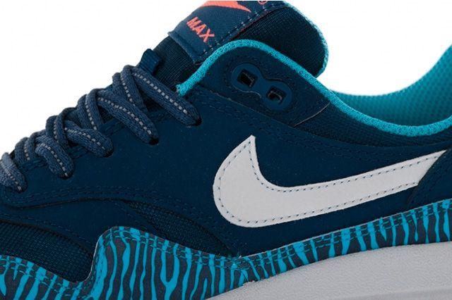 Nike Air Max 1 Gs Brave Blue Tiger