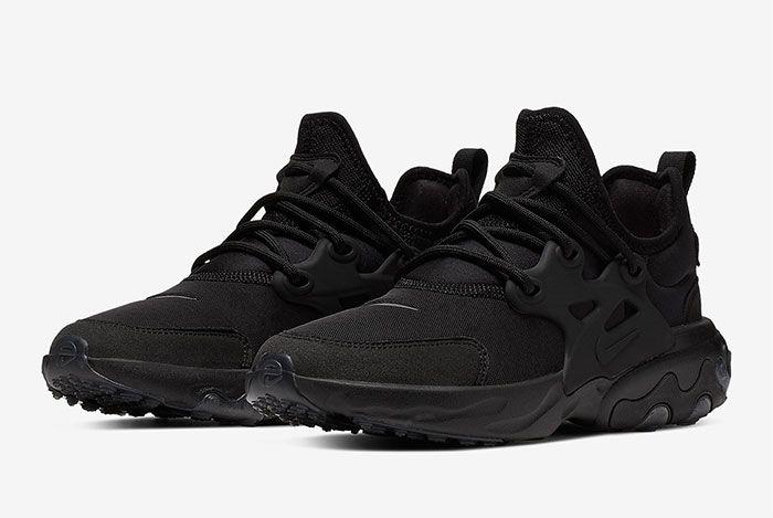 Nike Air Presto React Summer Triple Black