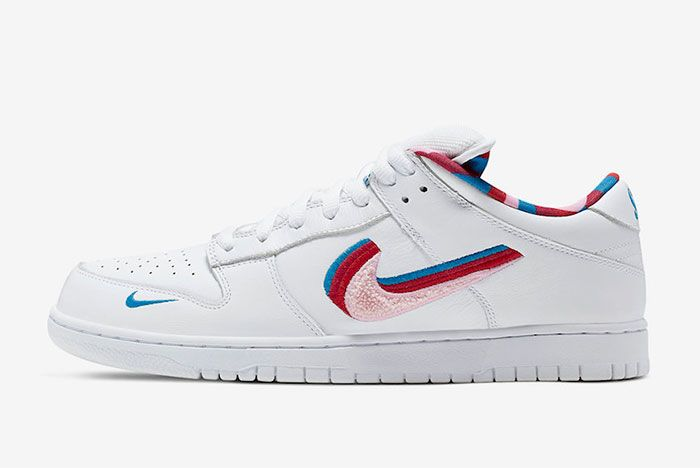Parra Nike Sb Dunk Low Left