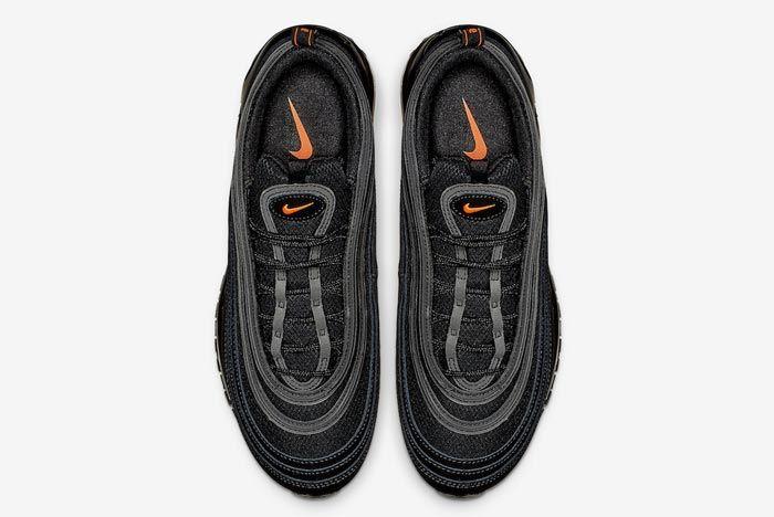 Nike Air Max 97 Black Hyper Crimson Top