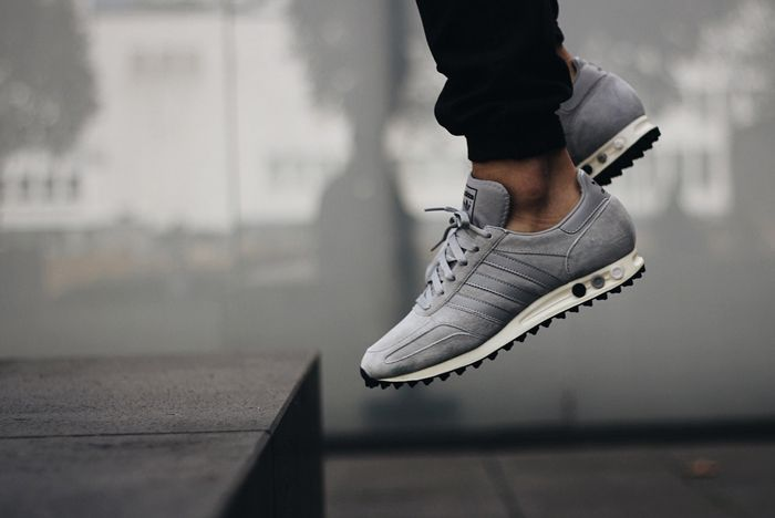 Adidas La Trainer Og Solid Grey6