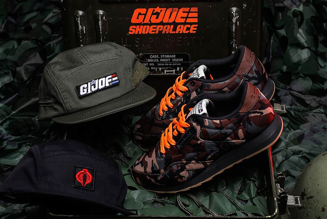 Shoe Palace X Reebok Gi Joe Classic 2