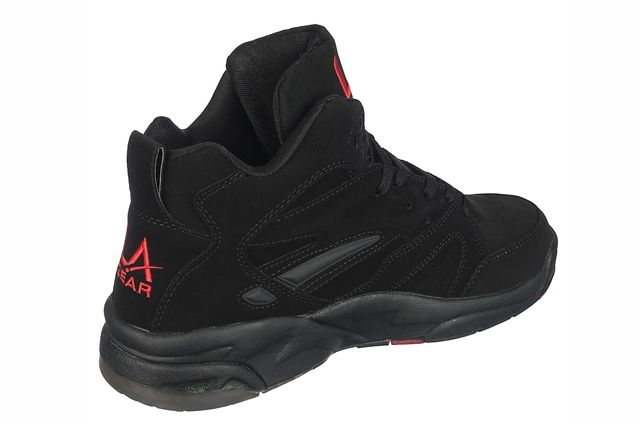 Tyga La Gear Black Nubuck 5