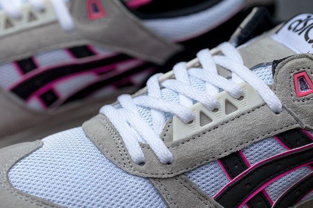 Asics Gel Respector White Grey Pink 1