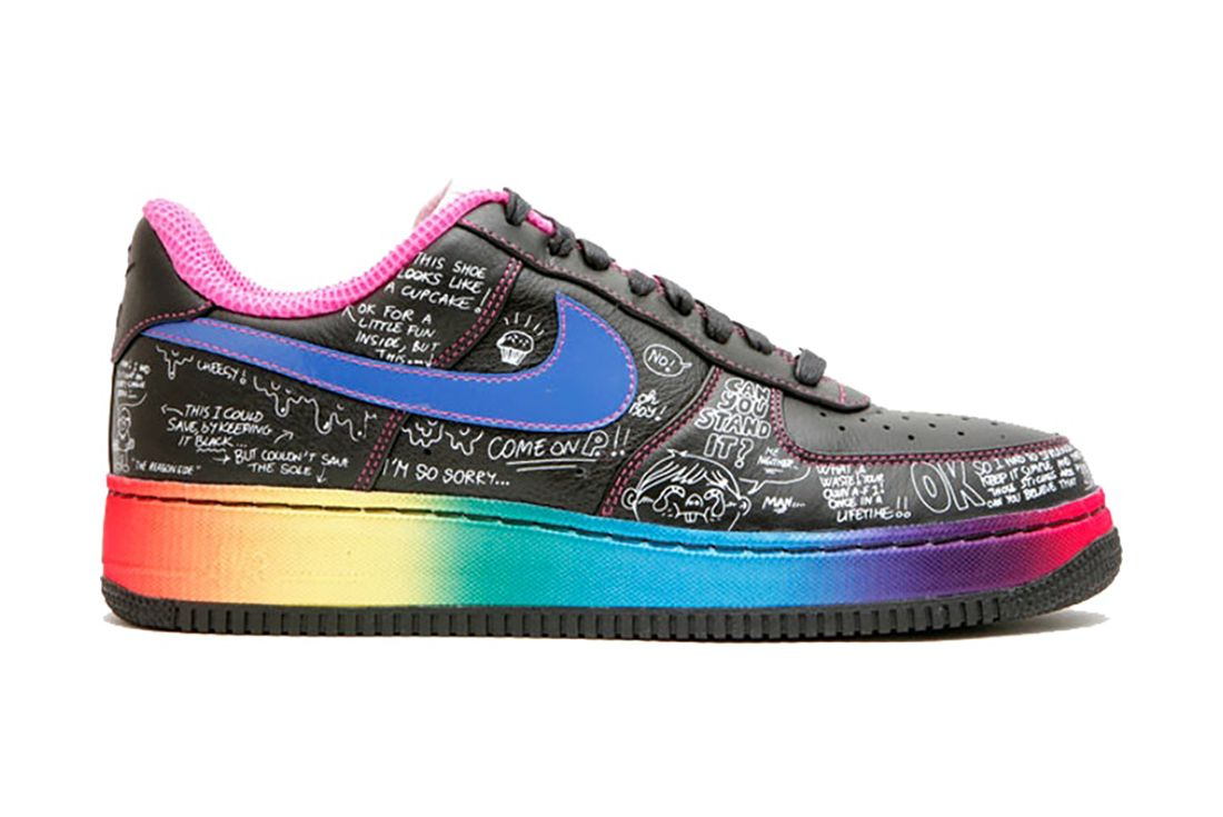 Busy P Colette Nike Air Force 1 Best Feature