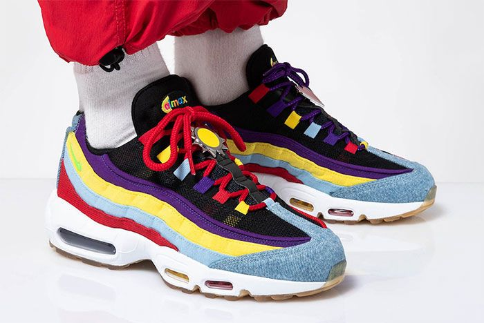 Nike Air Max 95 Sp Multicolor Right
