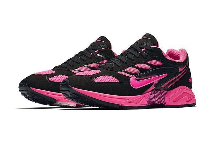 Nike Air Ghost Racer Black Pink Blast Cu1927 066 Release Date Pair
