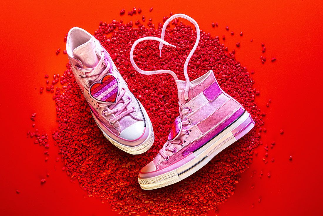 Converse X Millie Bobby Brown Collection Sneaker Freaker Pink Chuck 701