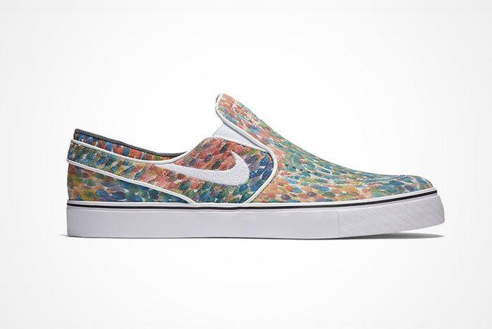 Nike Sb Stefan Janoski Slip On Watercolor 1