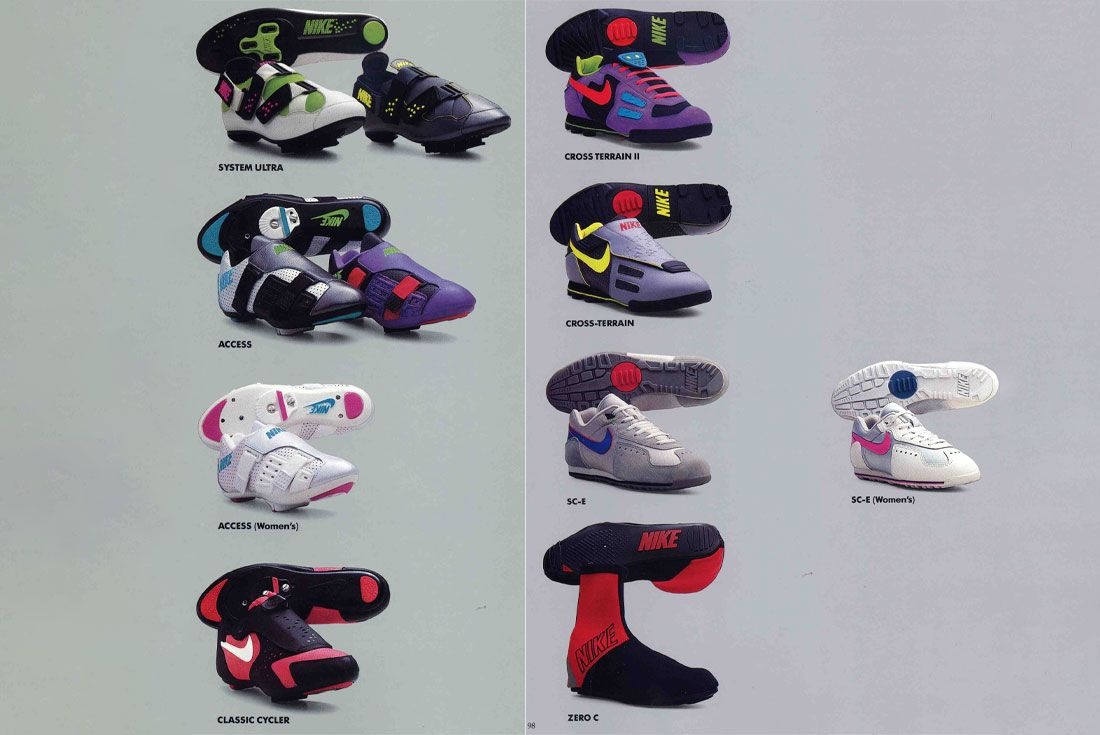 Nike Fall 1991 Catalogue Echelon