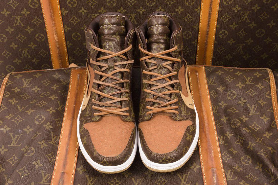 Off White X Louis Vuitton Off Louis Air Jordan 1 Custom 11