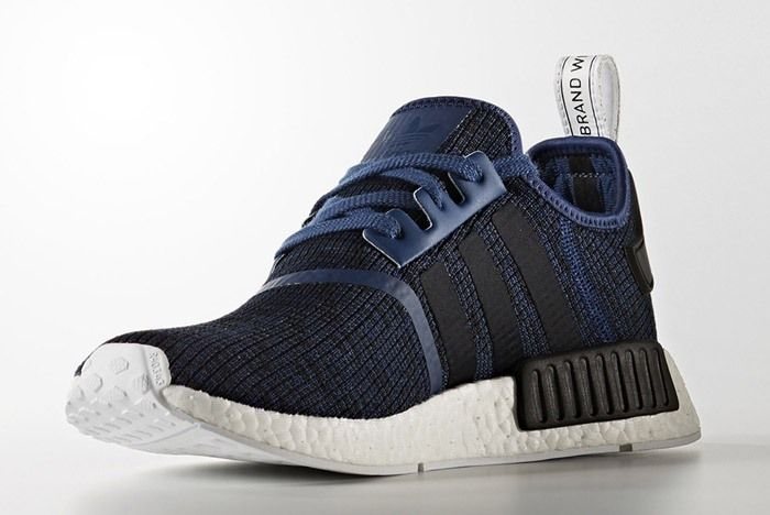 Adidas Nmd R1 March 2017 Blue Black By2775 3