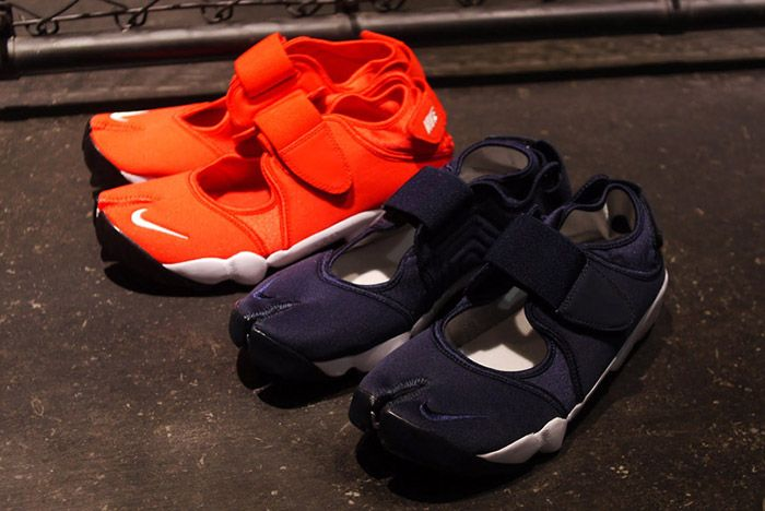 Nike Air Rift Nonfuture Navy Blue Red 1