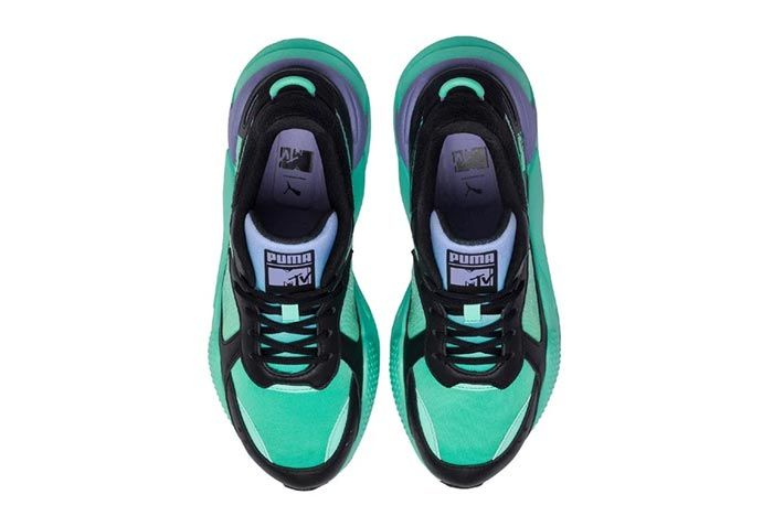 Puma Mtv Rs X Tracks Green Top