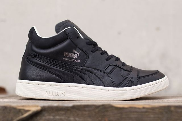 Puma Boris Becker Black Leather 1