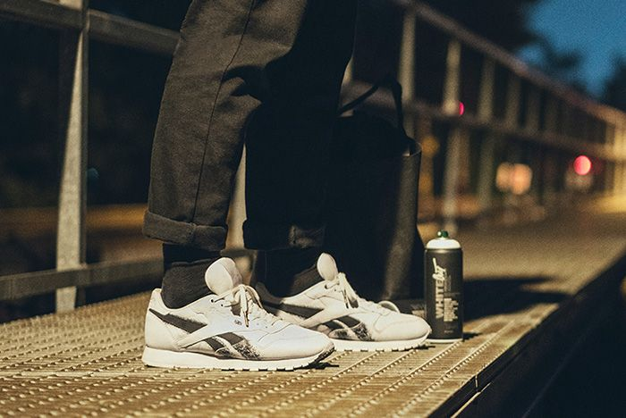 Montana Cans X Reebok Classic Leather Sneaker Freaker