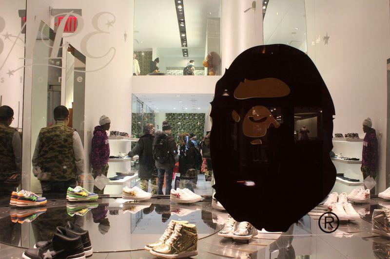 Bape Store New York Nyc Fashion A Bathing Ape Result