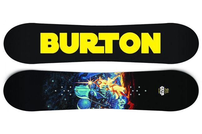Burton Star Wars Snowboard 6 1