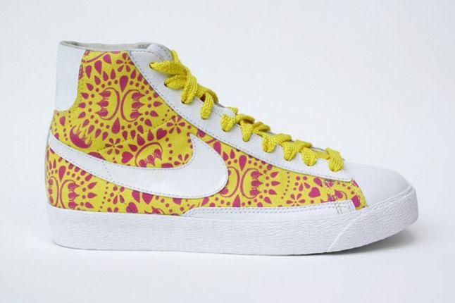 Claw Money Nike Blazer Yellow 1