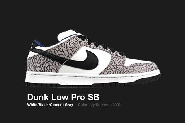 Nike Dunk Low Sb Supreme White 2002 1