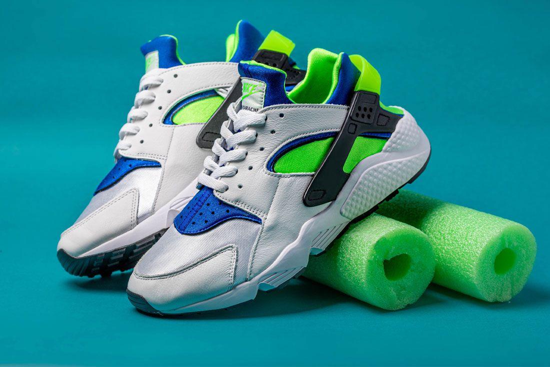The Nike Air Huarache 'Scream Green' 2021 Retro Hits All the Right ...
