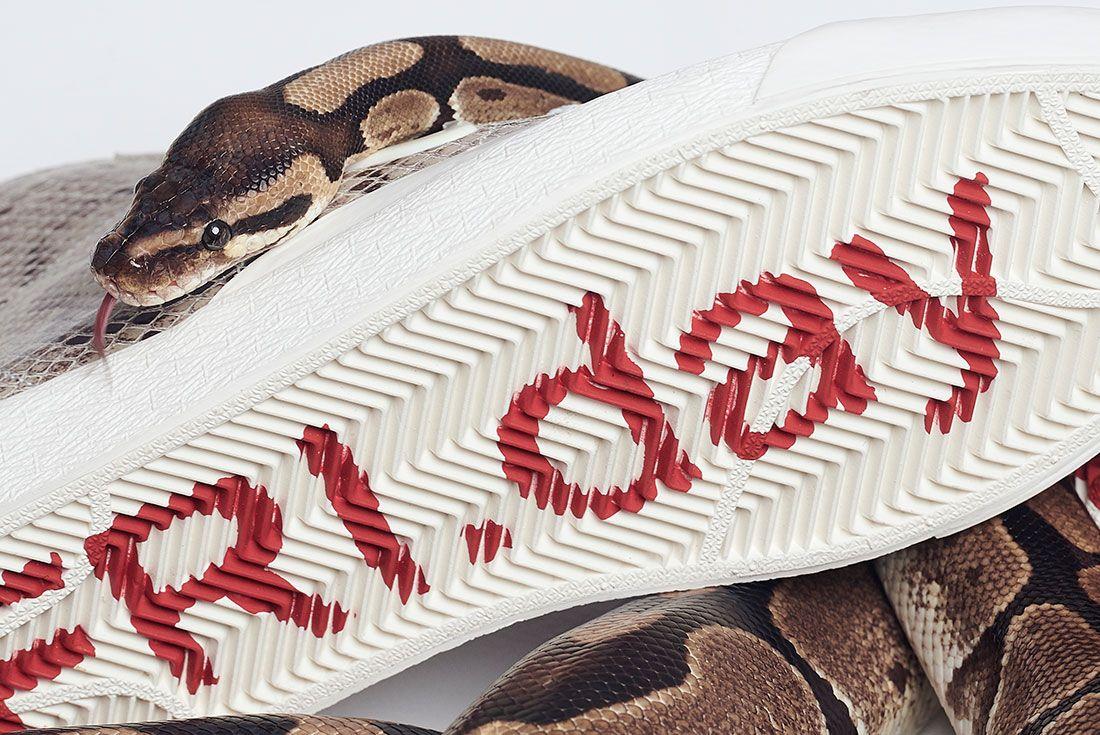 Soulland Nike Sb Blazer Snake Snakeskin Sole Close Up
