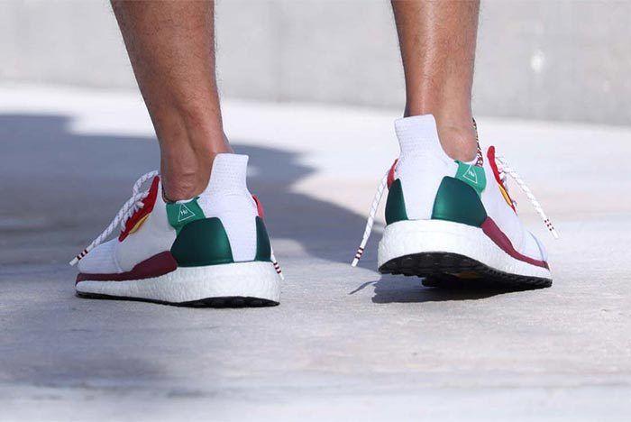 Pharrell Williams X Adidas Solar Hu Glide St White 3