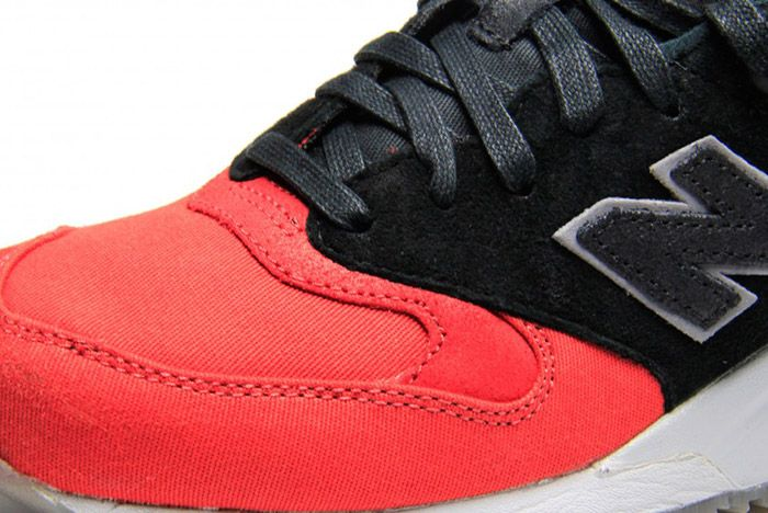 New Balance 999 Waxed Canvas Red Black 4