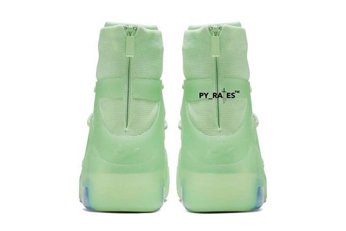 Nike Air Fear Of God 1 Spruce Frosted Heel