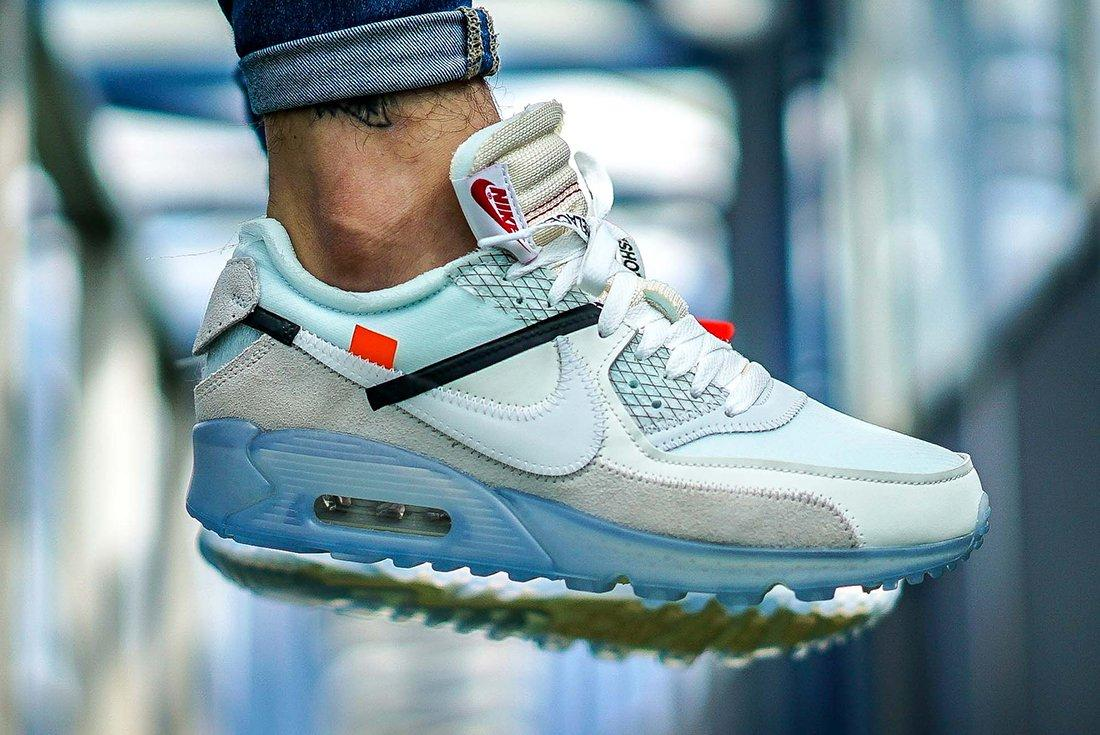 Off White X Nike Air Max 90 5