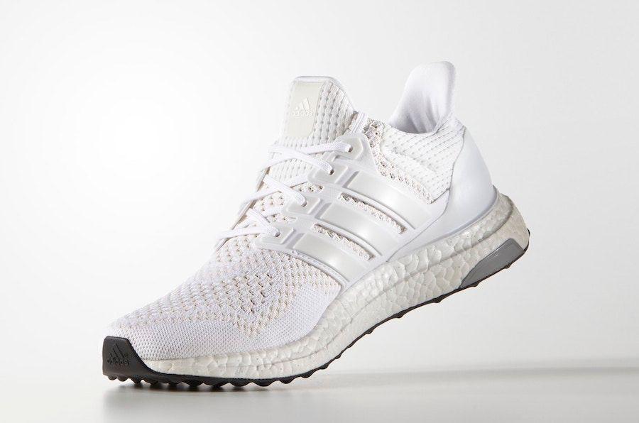 adidas UltraBOOST Triple White Left