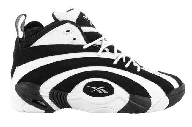 Reebok Shaqnosis Black White Side 1