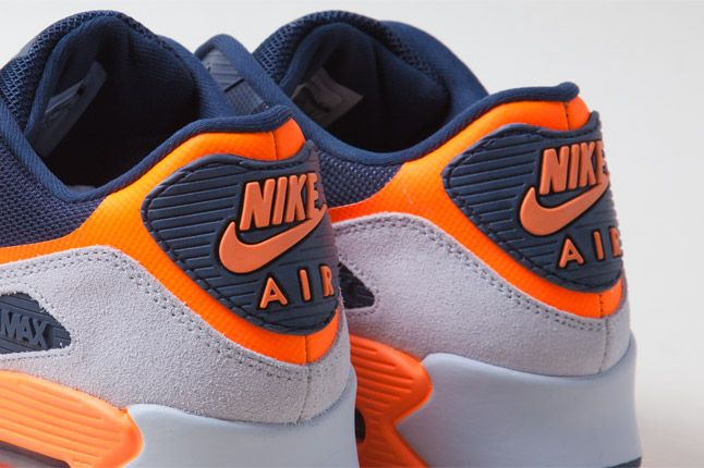 Nike Air Max 90 Hyperfuse Orange Blue Heel Tabs 1