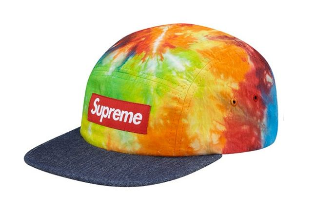Supreme Tie Dye Camp Caps 3 1