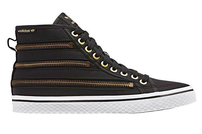 Adidas Originals Honey Zip Black Profile 1