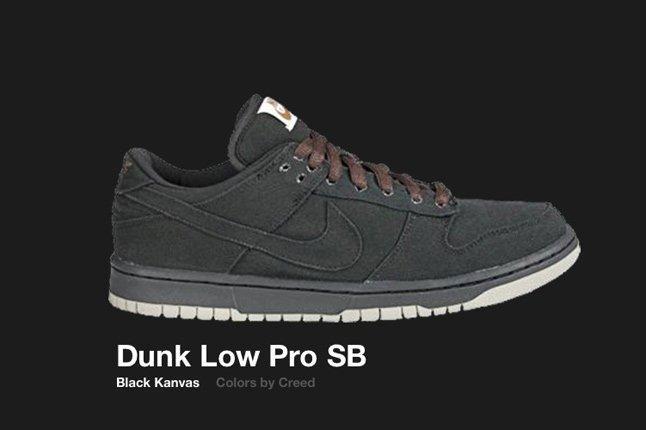 Nike Dunk Low Sb Canvas Creed 2004 1
