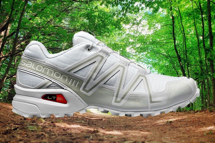 Salomon Speedcross 3 Adv White Lateral