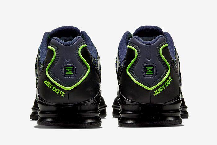 Nike Shox Tl Just Do It Ct5527 400 Heel