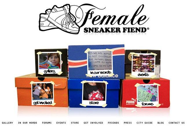 Female Sneaker Fiend 1
