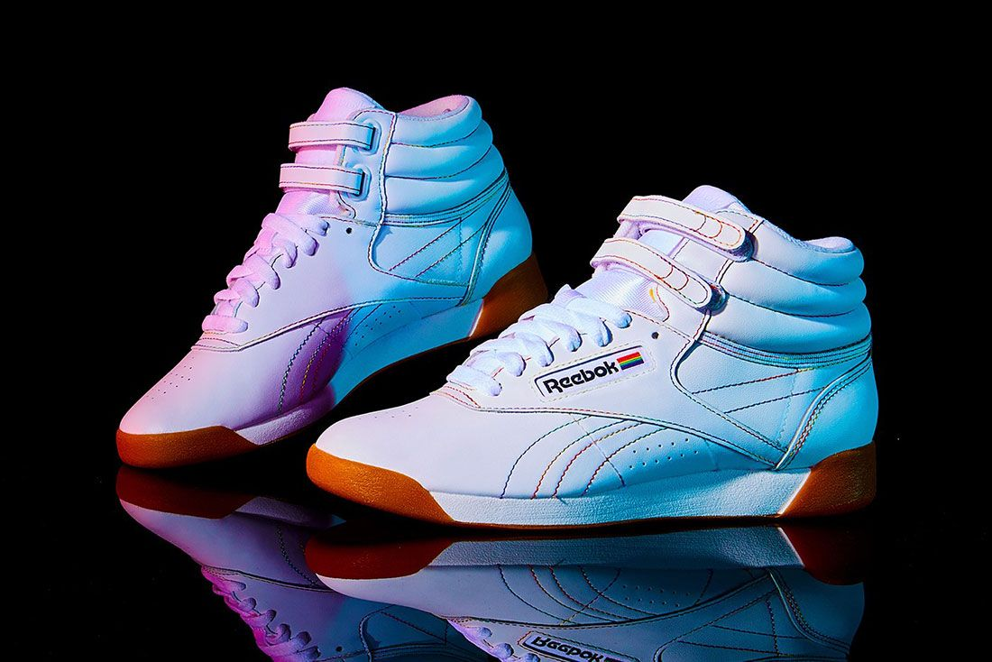Reebok Pride Freestyle High