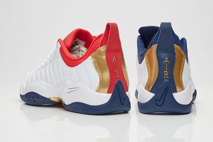 Nike Air Oscillate Red White Blue Usa 4