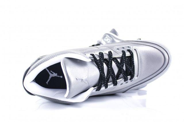 Air Jordan 3 5Lab3 Metallic Silver 1