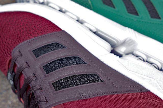 Adidas Zx Flux 2 0 Green Burgundy 3
