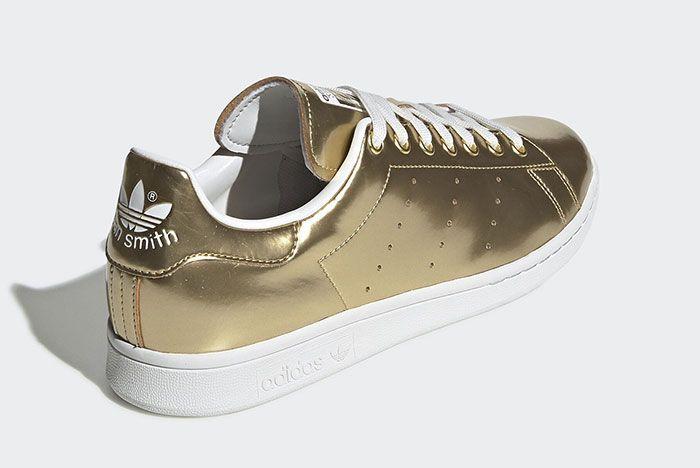 Adidas Stan Smith Metal Fv4298 Rear Angle