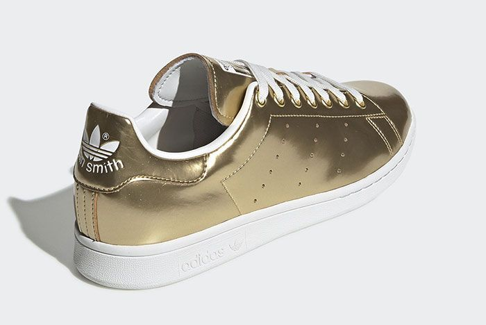 Adidas Stan Smith Metal Fv4298 Rear Angle