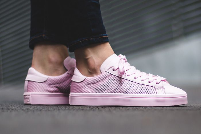 Adidas Court Vantage Clear Pink3