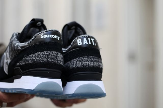 Saucony Bait Shadow Original Black Grey Bumper 4